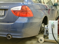 Rototest Dyno - BMW 335d Touring -07 (210 kW)
